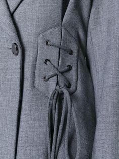Ellery corset detail blazer