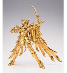 in stock s-temple metal club metalclub Sagittarius Aiolos Saint Seiya glod Saint Myth Cloth Ex action figure toy metal armor