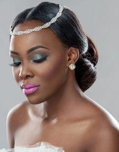 maquiagem para pele negra - clássica