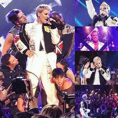 If the band's amazing the crowd's amazing!  Good job y'all!   P!NK (Alecia Beth Moore) Fanclub  http://ift.tt/2uNVxEO