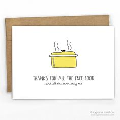 Funny Thank You Card by Cypress Card Co. | Wholesale Greeting Cards