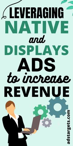 The use of Native ads on various publishers' websites or blogs has increased more than 500% in the last 5 years! In this post, you will learn how to leverage native and display ads to increase revenue! #publishers #nativeadsadvertising #Onlineads #blogsads #adsforblogs #blogs Display Advertising, Display Ads, Online Advertising, Online Marketing, Digital Marketing, Youtube Advertising, Popular Ads, Google Ads, 5 Years