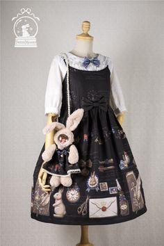 fcf68506f82b White Rabbit   the Memoirs of Wonderland SP JSK-淘宝网全球站 Japanische Mode