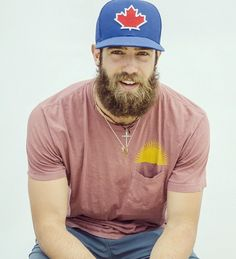 You Will Have Extreme Lumbersexual Thirst For This Pro Baseball Player --  I think we should call him Lumber Norris or Danny Hobo or Sex Lumber Dude....