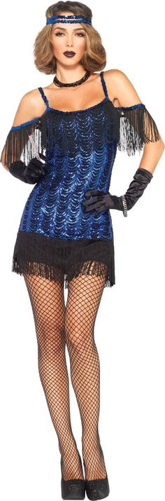 Adult Gatsby Flapper Costume - Party City $40