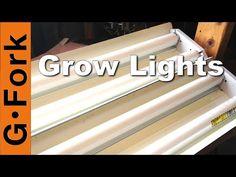 Cheap Grow Lights - GardenFork.TV - YouTube
