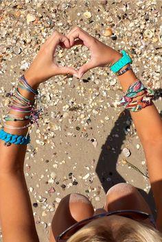 We heart the beach