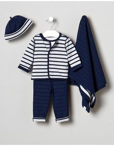Baby Boy's Bayside Bundle Outfit by JanieandJack