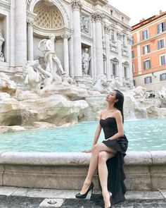 Trevi Fountain, Rome, Italy | 18.5k Followers, 1,259 Following, 403 Posts - See Instagram photos and videos from A Fashion Blog By Tina Lee (@ofleatherandlace)