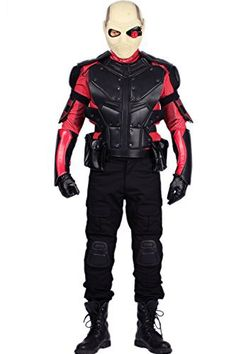 Perfect your character in this cosplay costume - Deadshot Mask Helmet and Costume - #SuicideSquadCostumes