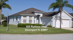 103 PLUMOSO LOOP DAVENPORT FL - 4/3 - 1,833 SF - POOL - FOR SALE $198,500
