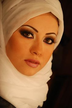 white hijab can be simply lovely