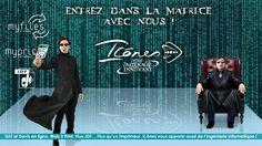 Campagne Matrix pour annoncer l'arrivée de nos nouveaux services en ligne http://www.icones.fr