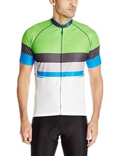 Canari Mens Del Mar Jersey Ecto Green Medium >>> Details can be found by clicking on the image.