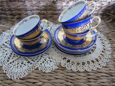 bavaria demi tea cups and saucers