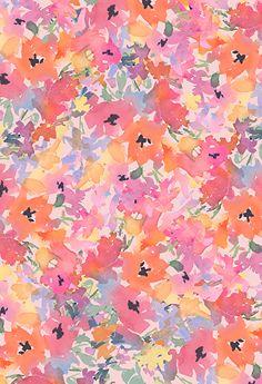 Flower Phone Wallpaper, Iphone Background Wallpaper, Pastel Wallpaper, Textile Pattern Design, Surface Pattern Design, Collage Background, Background Patterns, Floral Prints, Art Prints