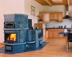 Finnish Fireplace.  Varaava Takka - heat storing   fireplace. Tuli Kivi - fire stone