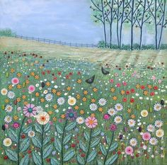 Field of Flowers by Josephine Grundy