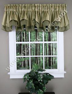 Windsor 56W X 17L Layered Curtain Valance