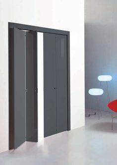 Puerta plegable / de poliéster NIEDER2 WITH TWO DOORS by Pietro Nieder TRE-P & TRE-Piu