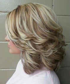 Frisuren, Frisuren für Stufenschnitt and Schulterlänge on Pinterest