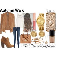 Autumn Walk-Taurus