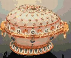 Embroidery faberge egg renaissance Kit 464