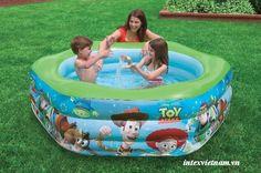 Bể bơi phao INTEX 57490 ngũ giác- Toys story