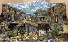 Picture of ZELINA, CROATIA - JAN Nativity Scene, Exhibition of Christmas mangers on Jan 2012 in Zelina, Croatia stock photo, images and stock photography.