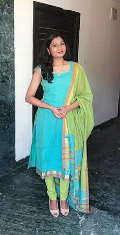 Long Kurta Designs, Churidar Designs, Kurta Designs Women, Best Blouse Designs, Bridal Blouse Designs, Blouse Neck Designs, Anarkali Frock, Anarkali Suits, Sari Dress