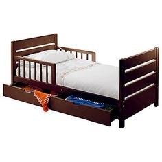 For Chloe Mothers Choice Toddler Bed With Drawer