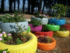 Arredo urbano / fioriera pneumatica