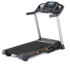 On Sale for 649,- !!  Warranty - Sturdy  - Wide -  For everyday use - Incline  -  -  Comfort  A home treadmill is a great way to get excercise. You will have no problems with the weather or light outside, just be active at home.  Just dont make a hanger out of it :-)