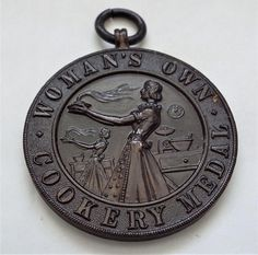 Vintage Woman's Own Cookery Medal Pocket Watch, Vintage Ladies, 1950s, Buy And Sell, Handmade, Stuff To Buy, Accessories, Women, Pocket Watches