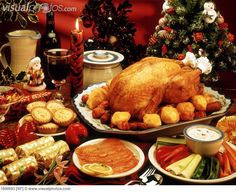 christmas dinner - Google Search
