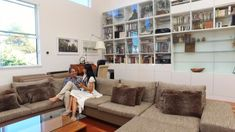 Oakland Loft is a Sanctuary for Life and Work Out Of Your Mind, Creative Architecture, Rv Life, Commercial Design, Houzz, Home Office, Minimalism, Living Spaces, Loft
