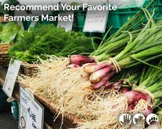 TELL US ABOUT Your Favorite Farmers Market!  #FarmersMarkets are ubiquitous to #NY summers – and we want to highlight the best markets statewide in an upcoming blog. Specifically, let us know: What's it called, and where is it? What makes it special? What are the best kinds of local produce to purchase? And what made you choose the market over a chain? We can't wait to hear from you! Please email to info@eany.org.