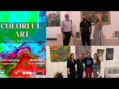 Proton&blue web tv – COLORFULL ART EXHIBITION Kai, Blue, Painting, Painting Art, Paintings, Painted Canvas, Drawings, Chicken