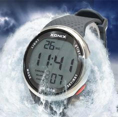 XONIX Fashion Men Sports Watches Waterproof 100m Outdoor Fun Digital Watch Swimming Diving Wristwatch Reloj Hombre Montre Homme,Like and share if you think it`s fantastic!Get it here