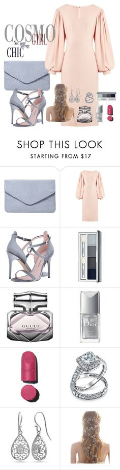"""""""Untitled #22"""" by aminadj ❤ liked on Polyvore featuring Dorothy Perkins, Osman, Chinese Laundry, Clinique, Gucci, Christian Dior, Bling Jewelry and Belk Silverworks"""