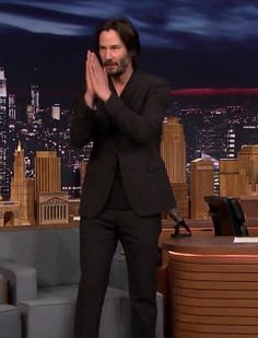 "Keanu Reeves 23th June 2017 ""The Tonight Show"""