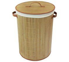 Buy Collapsable Bamboo Laundry Basket at Argos.co.uk - Your Online Shop for Linen baskets and laundry bins, Bathroom accessories, Home furnishings, Home and garden.