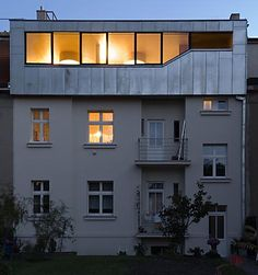'Top-floor flat outside of Prague has been turned (by Sepka Architekti) into an outstandingly modern variation on the classic mansard roof style'