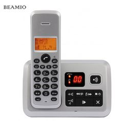 Colorful Call ID Answer System Telephone Digital Cordless Phone For Home Office Business Wireless Phone Telefone Sem Fio