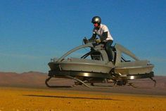 Aerofex hover vehicle resembles Star Wars hover bike