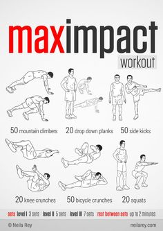100 no-equipment workouts - Imgur