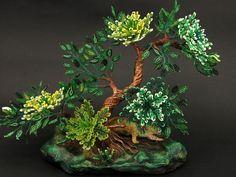 Fantasy Tropical treeMADE TO ORDER jaguar by UniversesSwirls