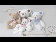 Crochet Bear Video Tutorial - YouTube