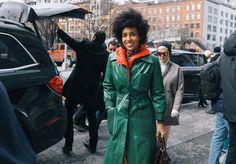 #StreetStyle   #NYC    Vogue.com's Chioma Nnadi