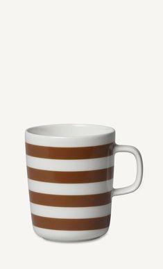 tasaraita mug brown